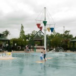 Jambalaya Park Splash Park area