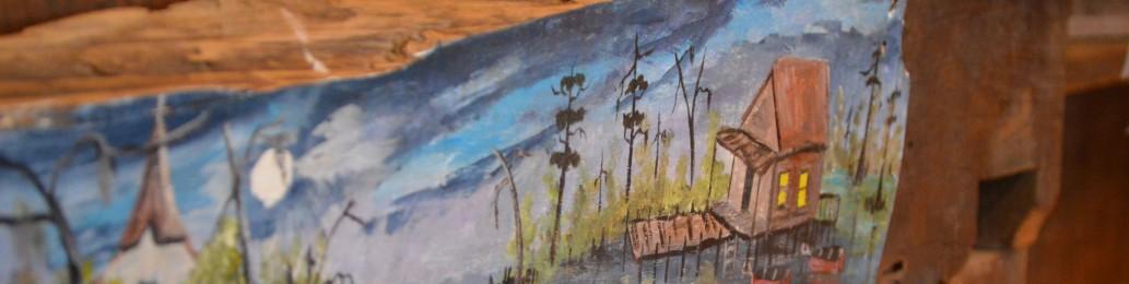 Cajun Village Art