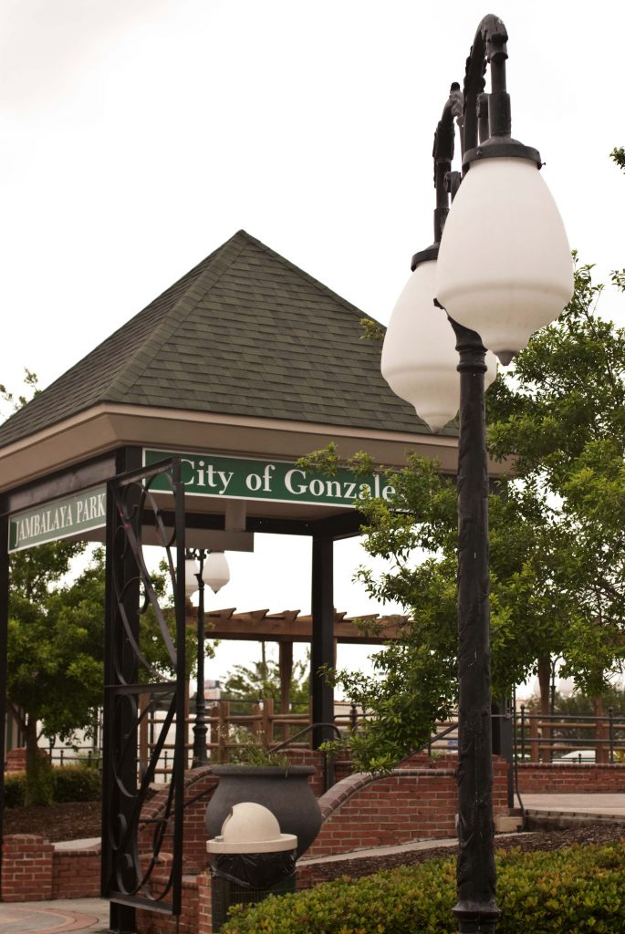 City of Gonzales Sign