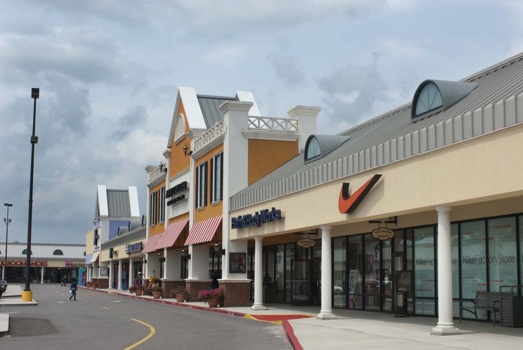 Tanger Outlet Mall