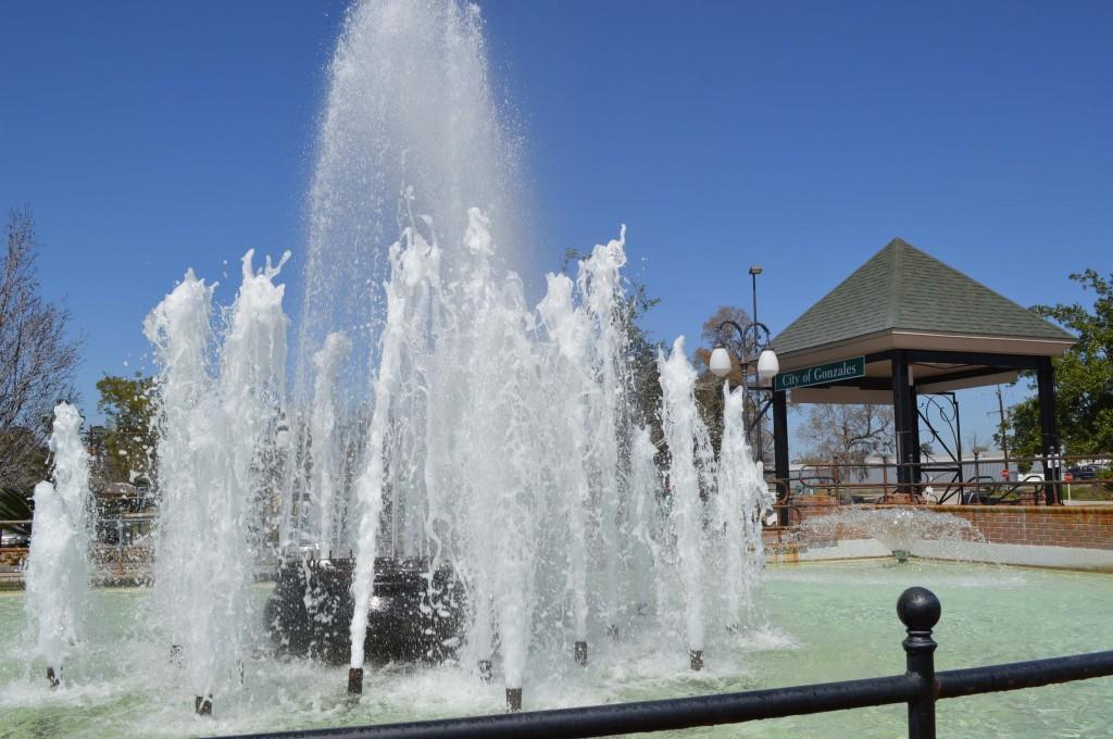 Fountain in Jambalaya Park