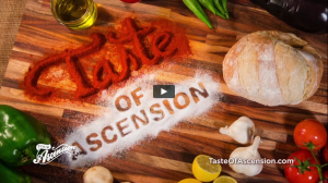 taste of ascension video