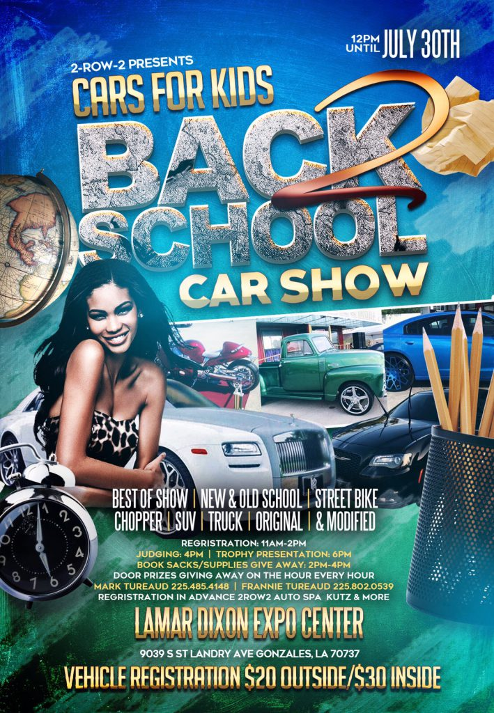 Back to School Car Show